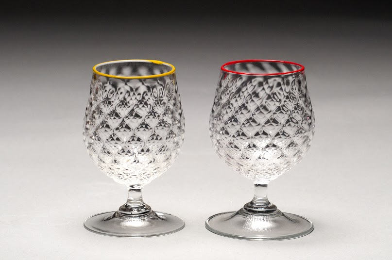 Footed Pineapple Goblet $40
